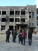 学生とともに東日本大震災被災地を体感
